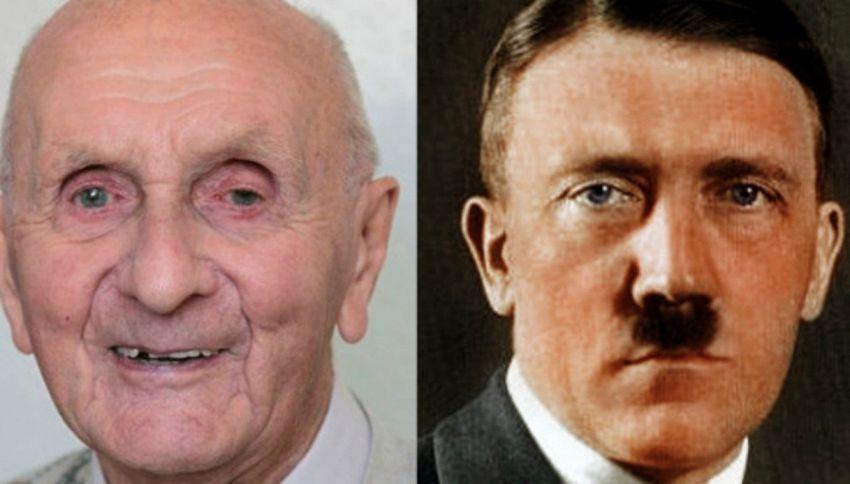 Herman Guthengerg e Adolf Hitler