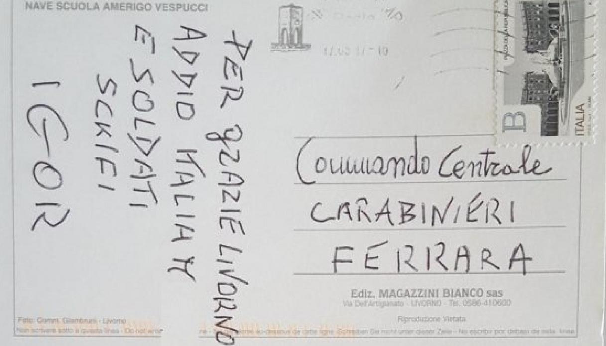 cartolina Igor Russo