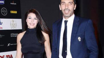 Ilaria D'Amico e Gigi Buffon