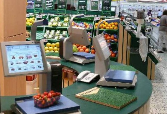 pesatura supermercato