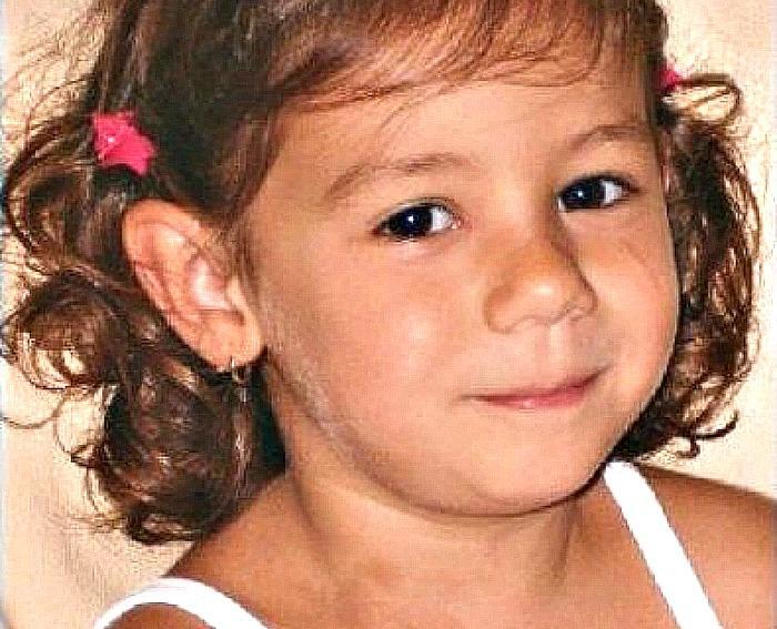 Denise Pipitone al momento della scomparsa.