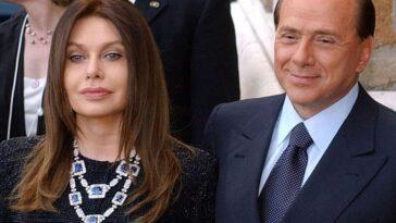 Veronica Lario e Silvio Berlusconi.