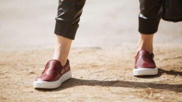 Scarpe senza calze