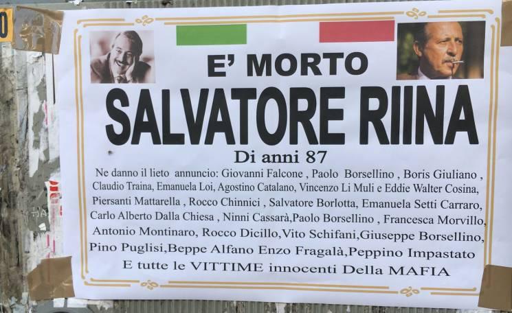 Mafia, boss Totò Riina in fin di vita