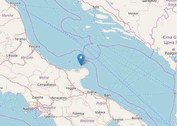 Terremoto nel Salernitano: scossa avvertita alle 7 di mattina