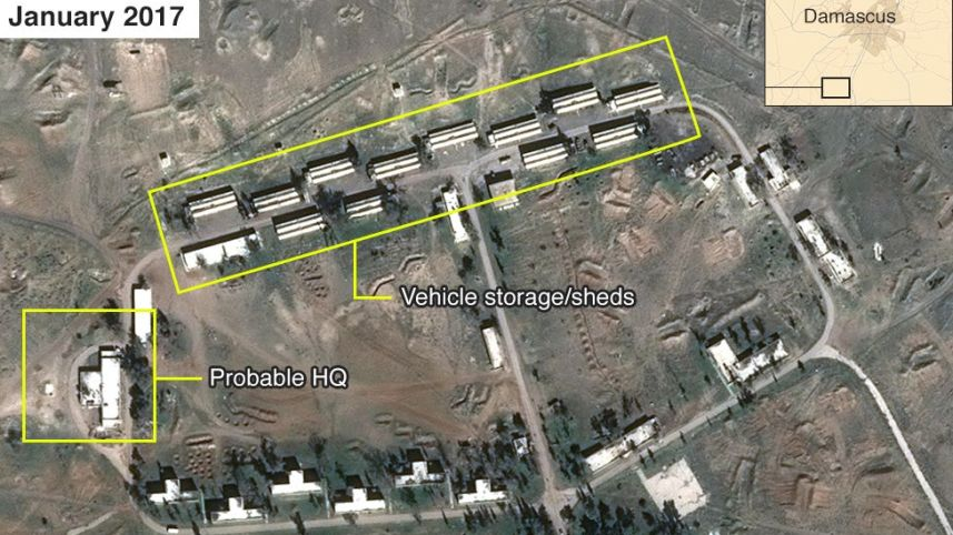Siria, Israele bombarda base militare iraniana vicino Damasco