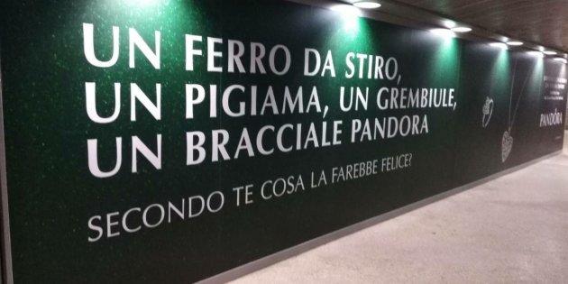 Pandora e la pubblicità accusata di sessismo