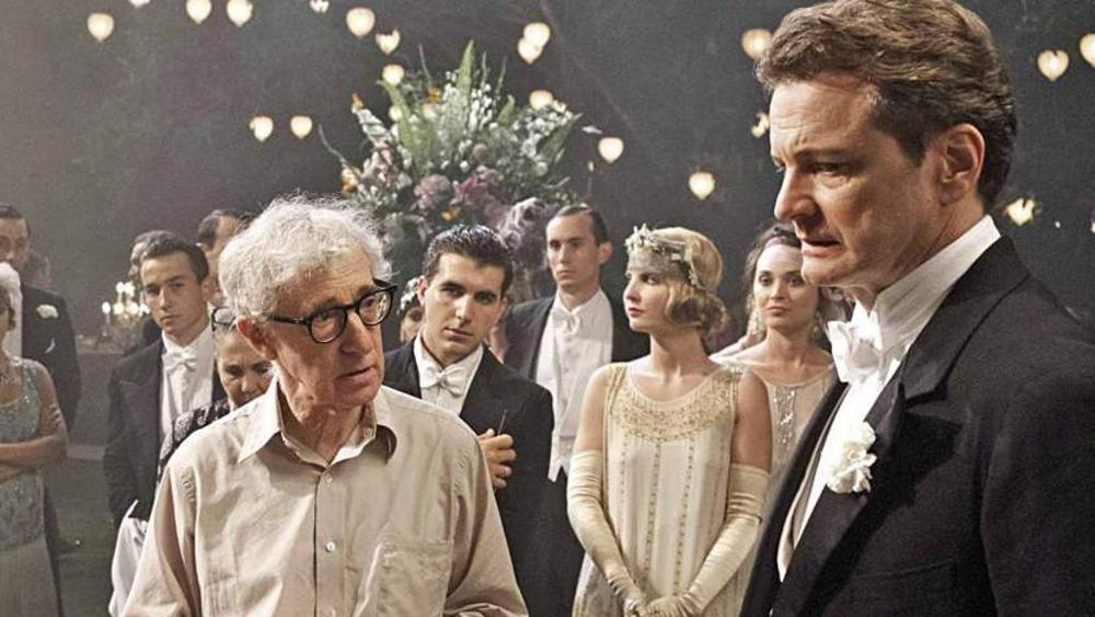 Woody Allen e Colin Firth.