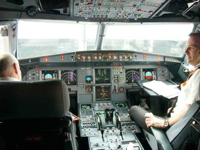 Equipaggio di cabina piloti di incontri