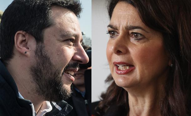 Matteo Salvini - Laura Boldrini
