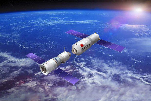 Stazione spaziale cinese fuori controllo: a Pasqua potrebbe cadere sull'Italia