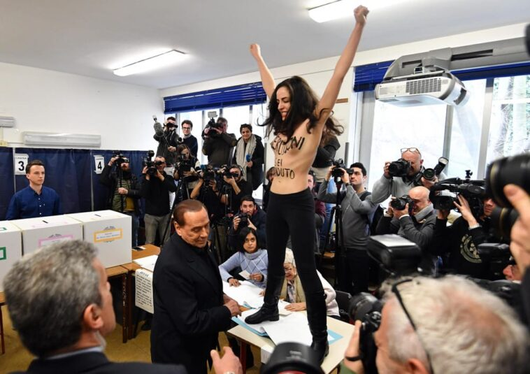 Silvio Berlusconi Femen