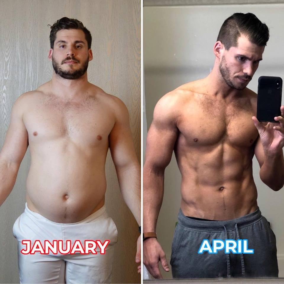Perde 20 chili in tre mesi: ecco la trasformazione