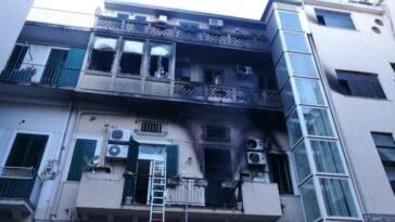 Messina-Incendio