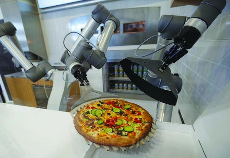 Pizzaiolo robot