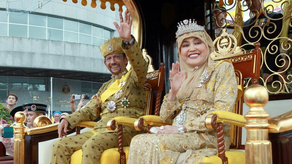 Il Sultano del Brunei.