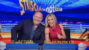 gerry scotti michelle hunziker