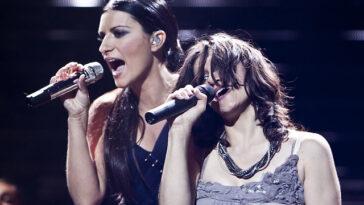 Laura Pausini ed Elisa
