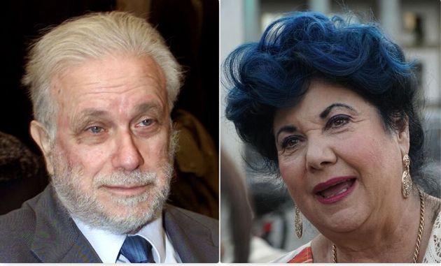 Luciano De Crescenzo e Maurisa Laurito