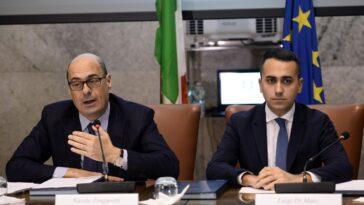 Nicola Zingaretti e Luigi Di Maio