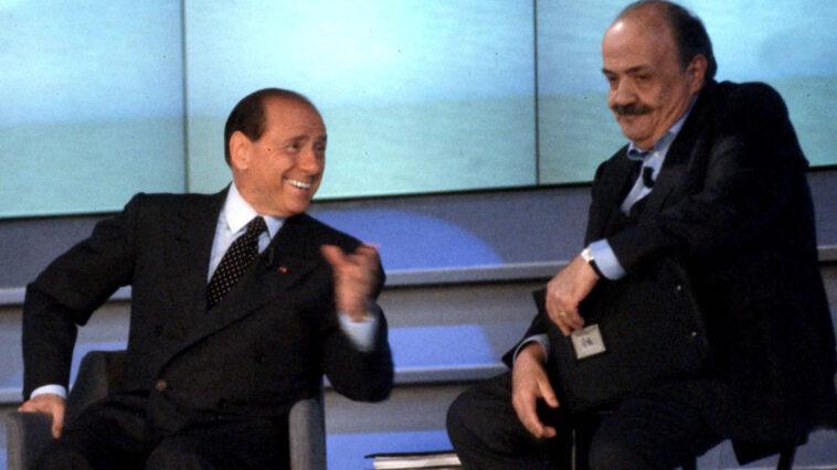 Silvio Berlusconi Maurizio Costanzo