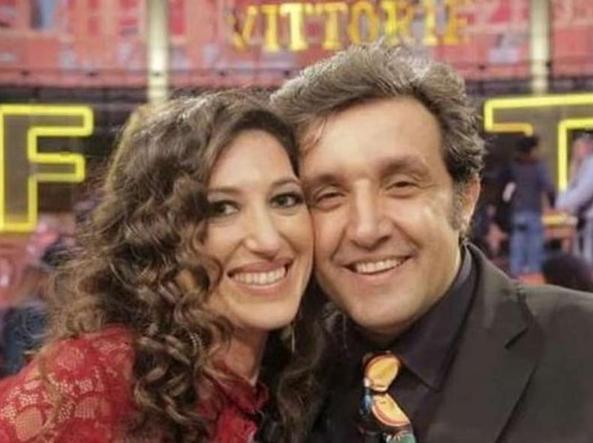 Adriana Riccio fidanzata di Flavio Insinna