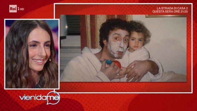 La figlia di Francesco Nuti: Adesso di papà mi occuperò