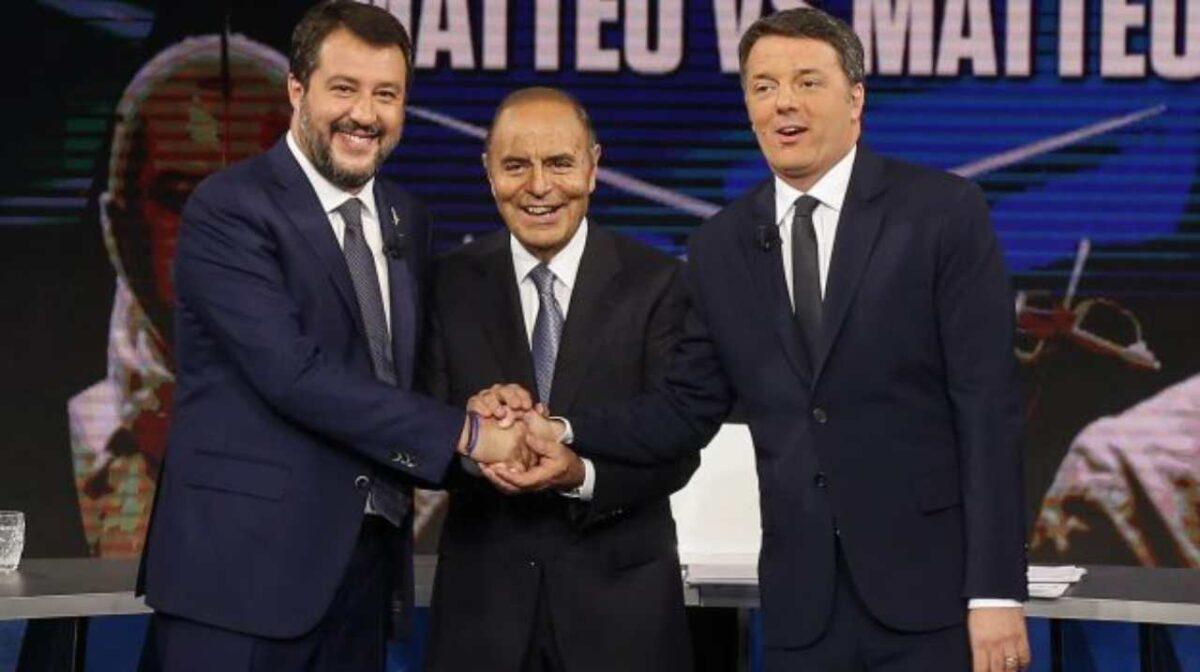 Renzi e Salvini a bere vino in una villa di Firenze?