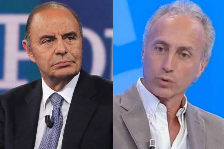 Bruno Vespa e Marco Travaglio