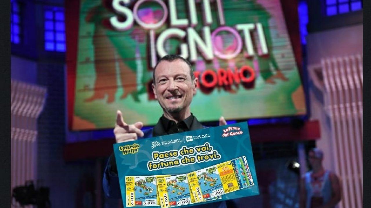 Amadeus Lotteria Italia 2020
