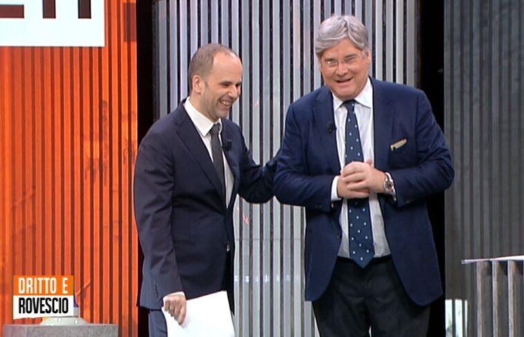 Paolo Del Debbio malore in diretta: abbandona lo studio per il dolore