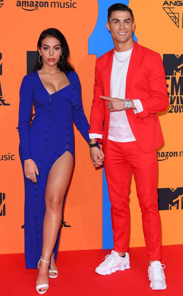 Ronaldo e Georgina MTV