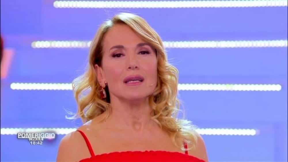 Barbara D'Urso a Pomeriggio 5