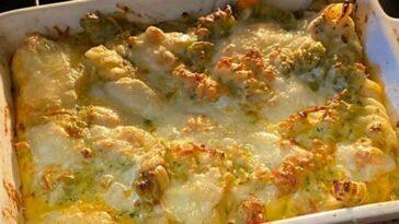 broccoli con besciamella al forno