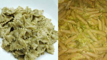 ricetta pasta crema zucchine