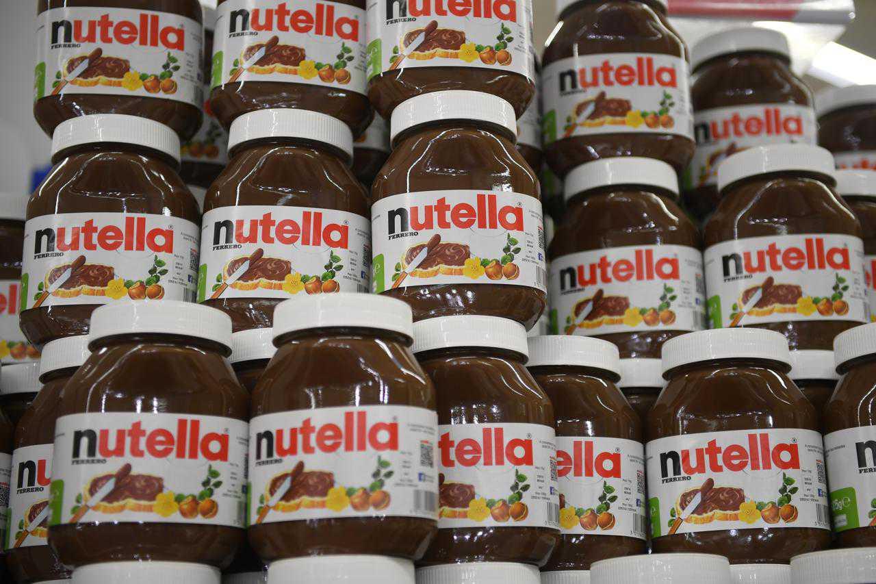 Barattoli di Nutella