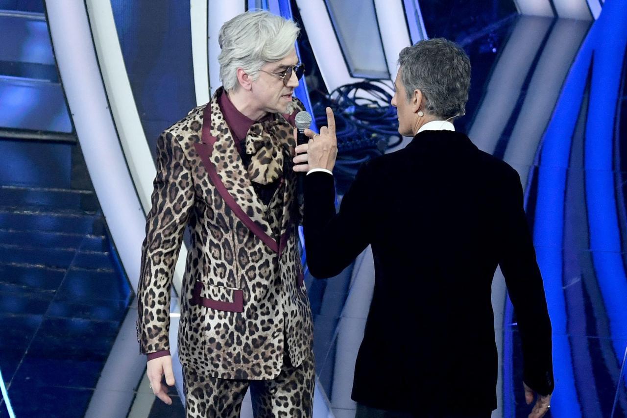 Fiorello e Morgan al Festival di Sanremo 2020