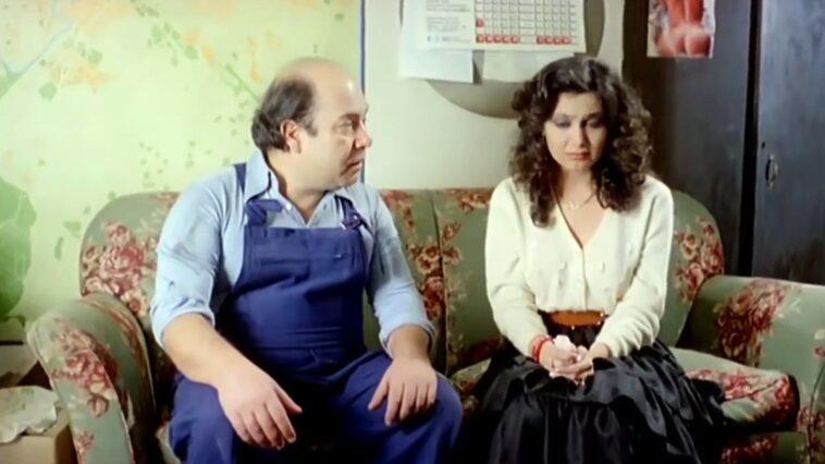 Michela Miti e Lino Banfi