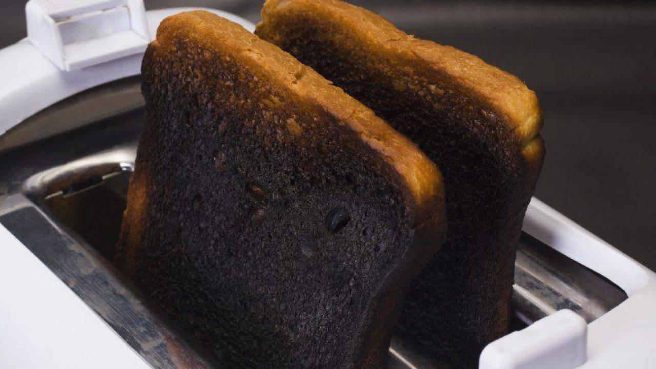 Toast bruciati