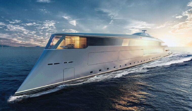 Aqua, Yacht di Bill Gates