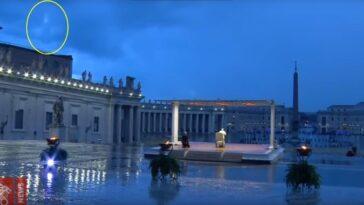 Apparizione della Madonna a piazza San Pietro