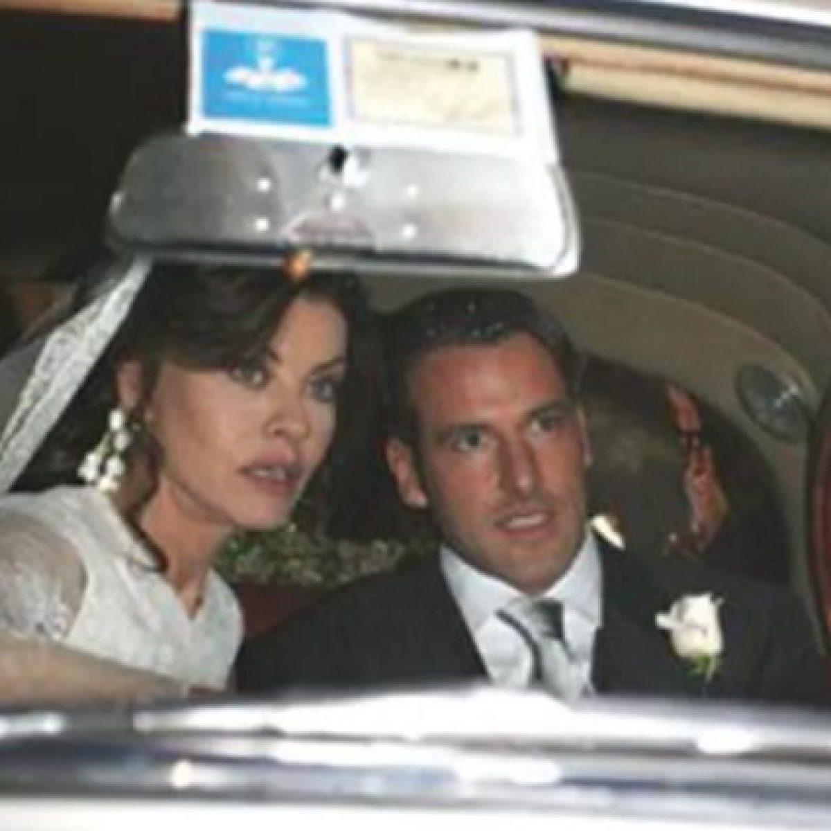 Eva Grimaldi e l'ex marito Fabrizio Ambroso
