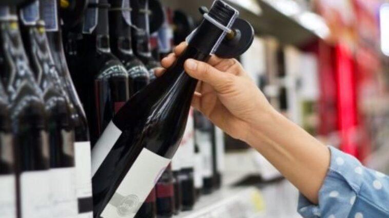 Multa per avere comprato vino
