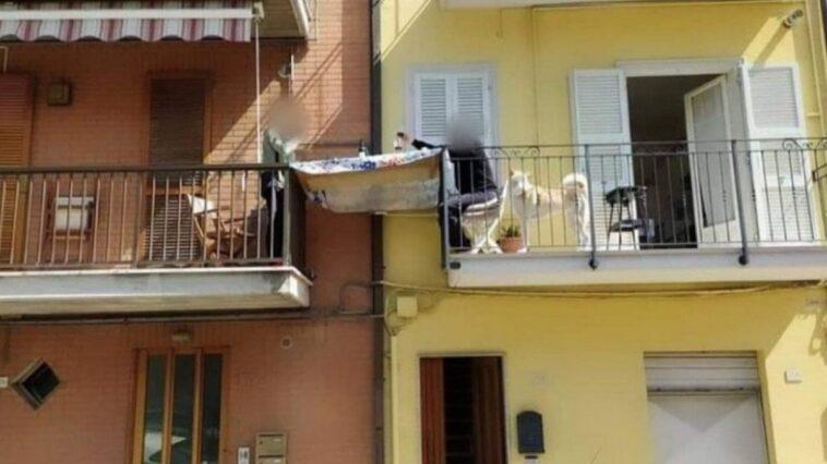 pranzo tra due balconi