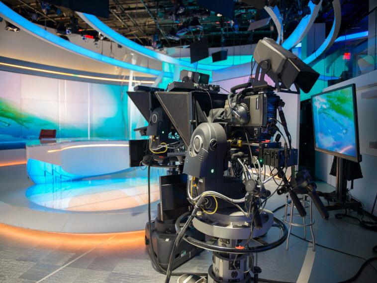 studio televisivo vuoto