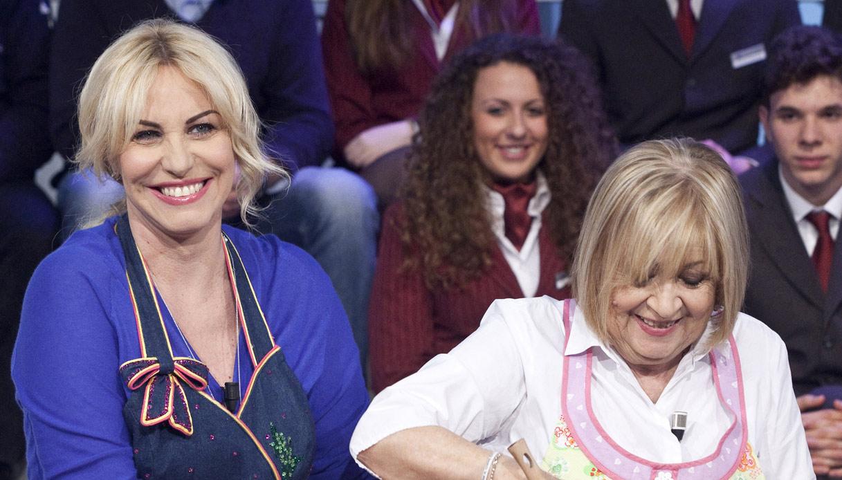 Antonella Clerici e Anna Moroni