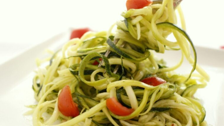 Ricetta spaghetti di zucchine
