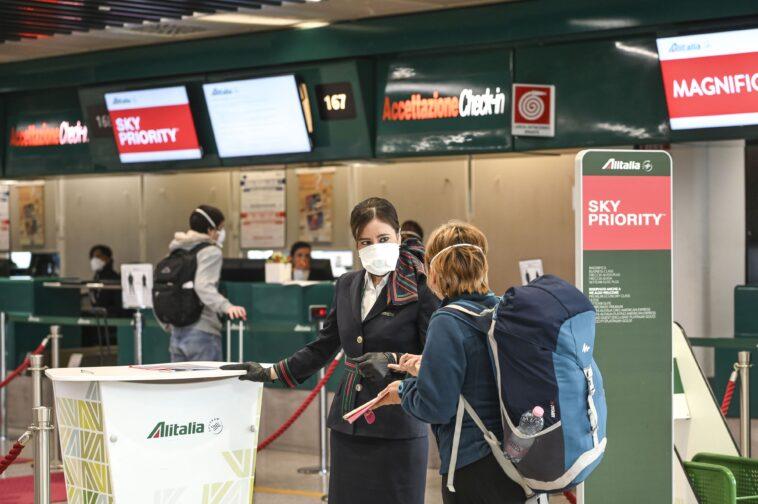 Aeroporto fiumicino coronavirus