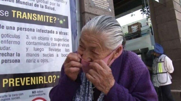 nonna che vende gelatine