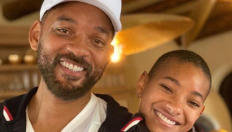 Will Smith con la figlia Willow
